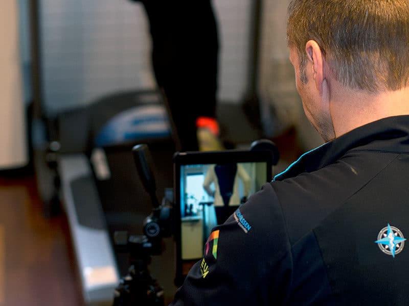 Filmad löpanalys i Göteborg och Stockholm