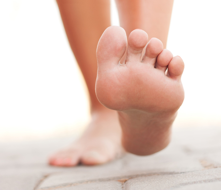 ont på fotens ovansida